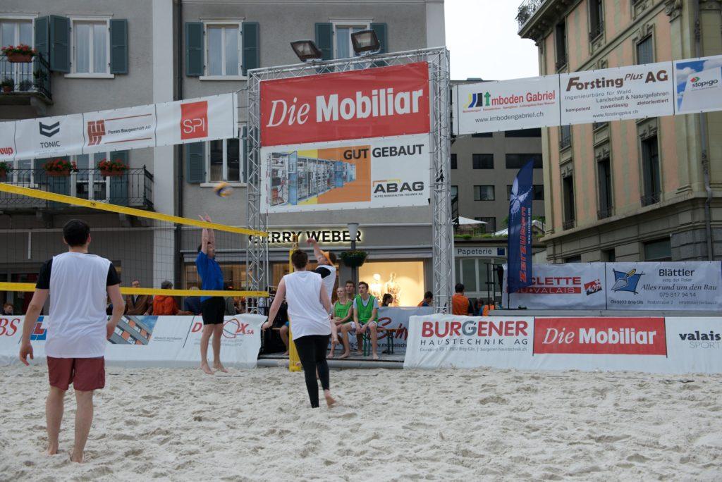 technik beim volleyball